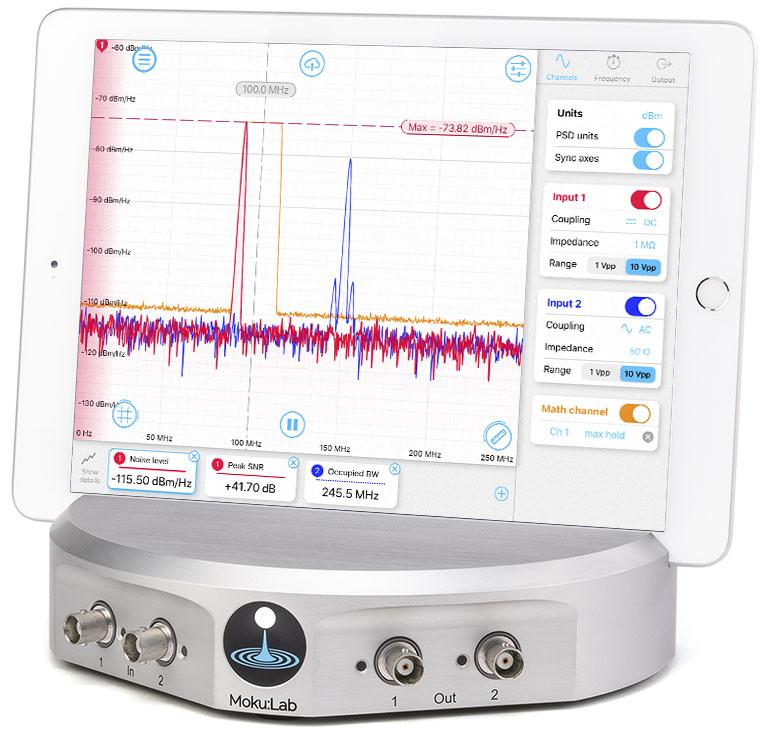 Spectrum Analyzer Liquid Instruments